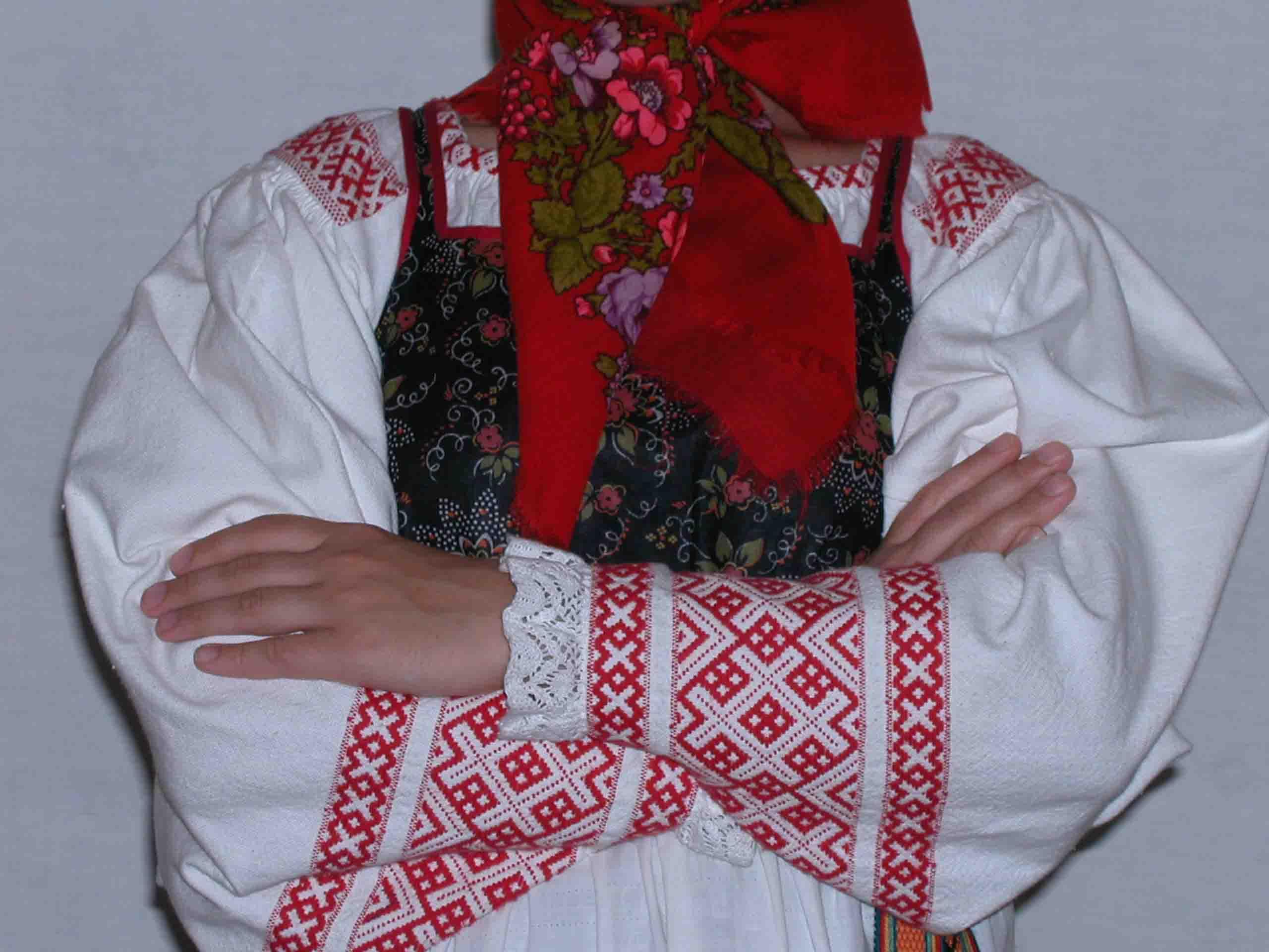Вышивки народов сибири